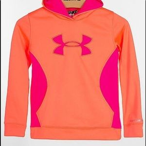 💖🧡UNDER ARMOUR  Girls Storm Hoodie YXL